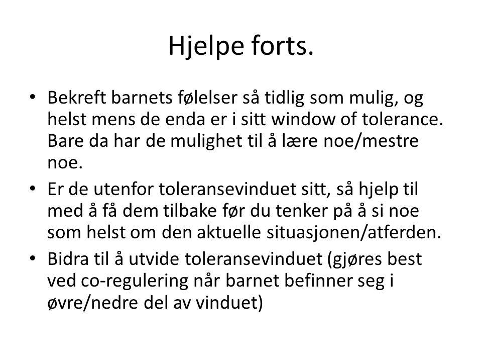 Hjelpe forts.