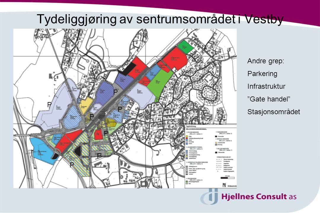 Tydeliggjøring av sentrumsområdet i Vestby