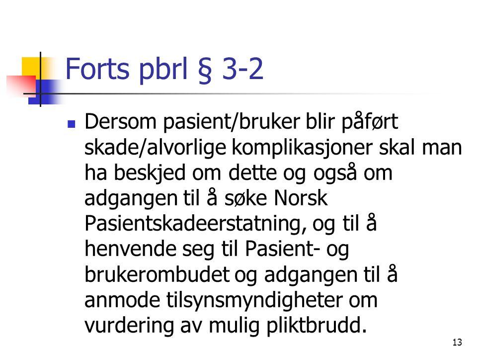 Forts pbrl § 3-2
