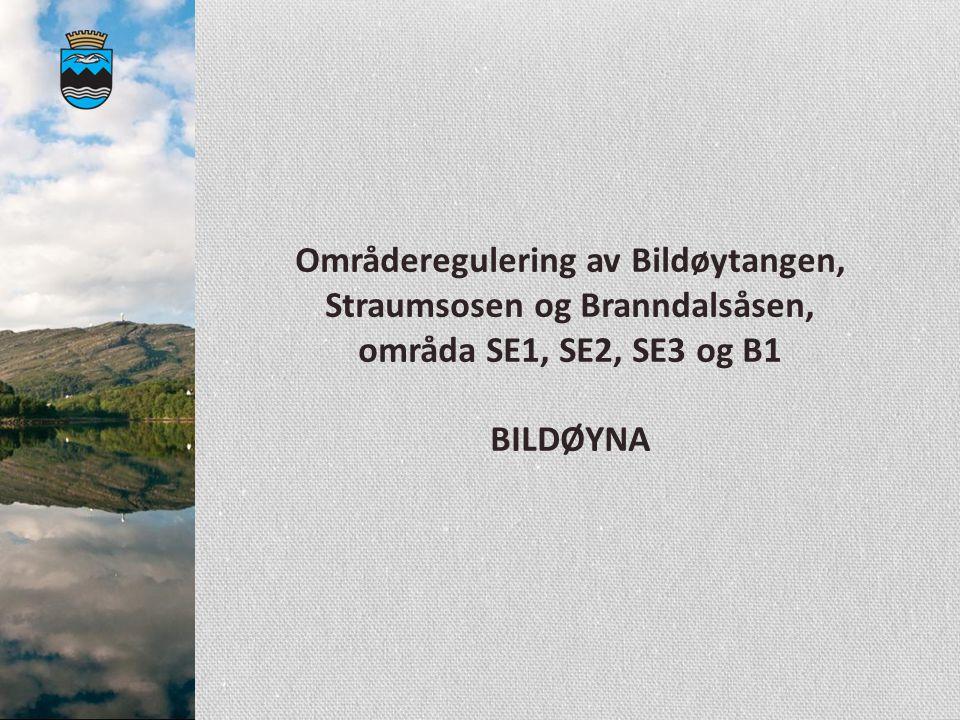 Områderegulering av Bildøytangen, Straumsosen og Branndalsåsen, områda SE1, SE2, SE3 og B1