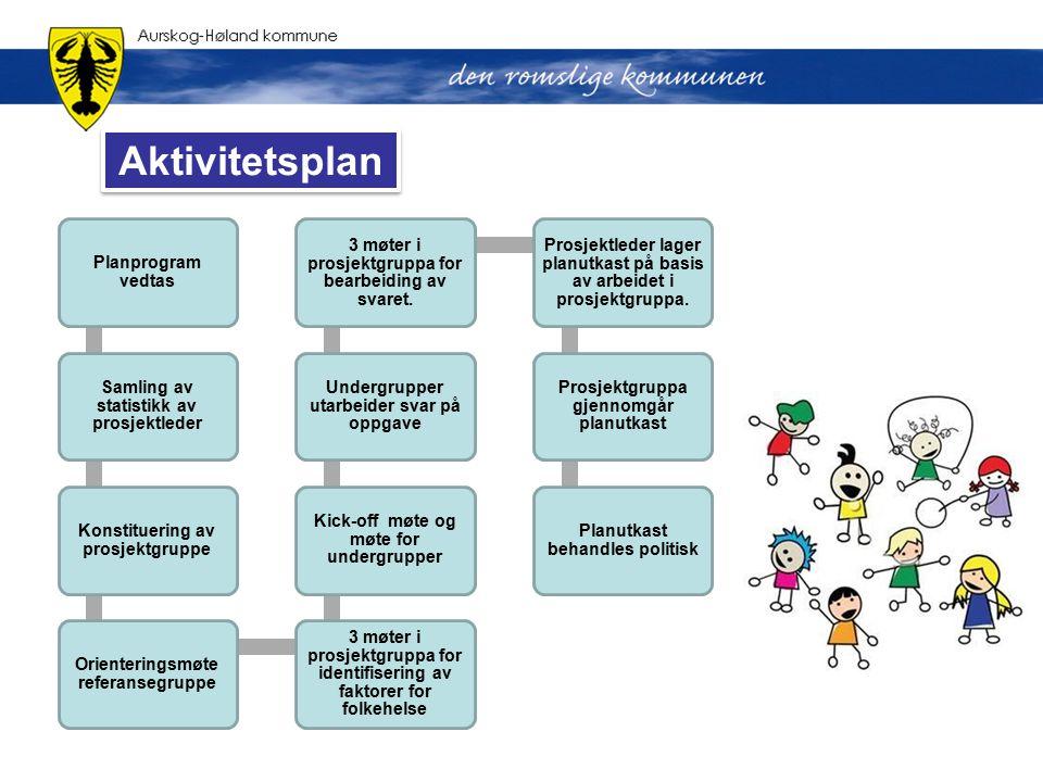 Aktivitetsplan Planprogram vedtas