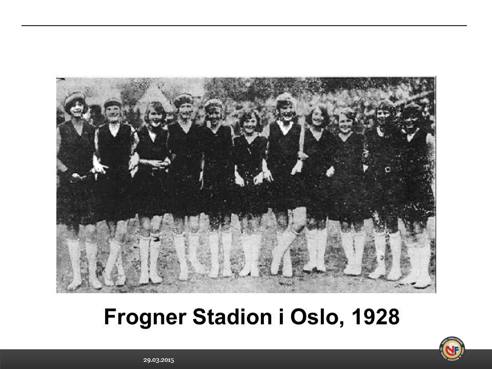 Frogner Stadion i Oslo, 1928