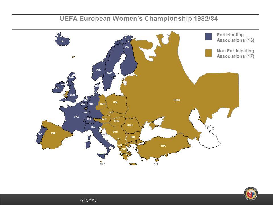 UEFA European Women's Championship 1982/84