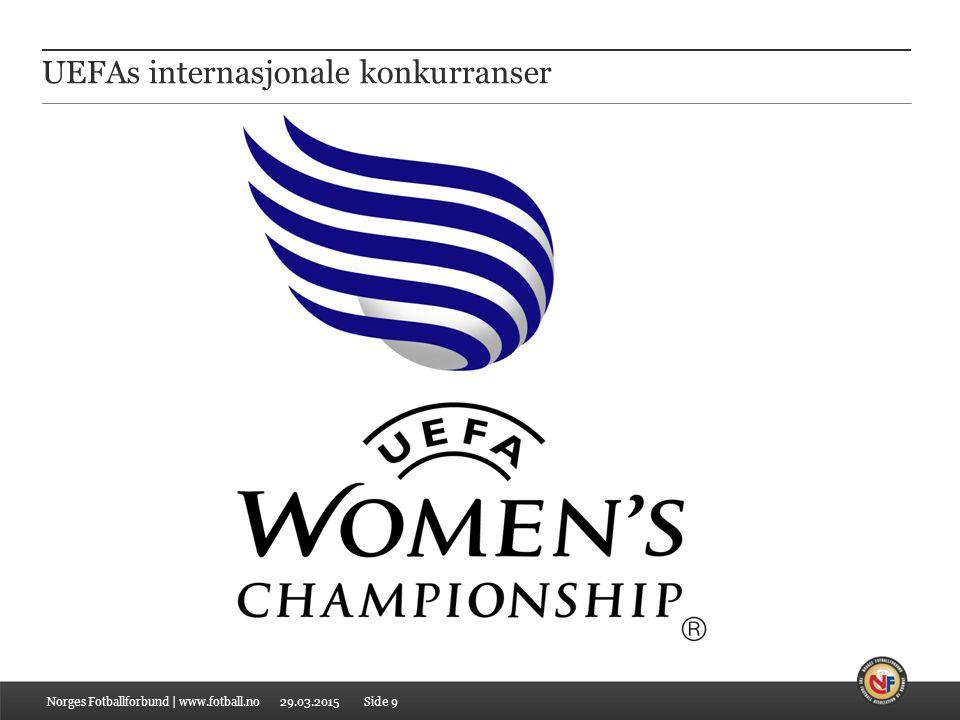 UEFAs internasjonale konkurranser