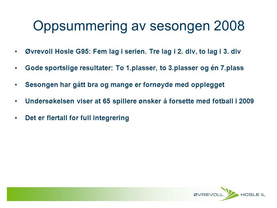 Oppsummering av sesongen 2008