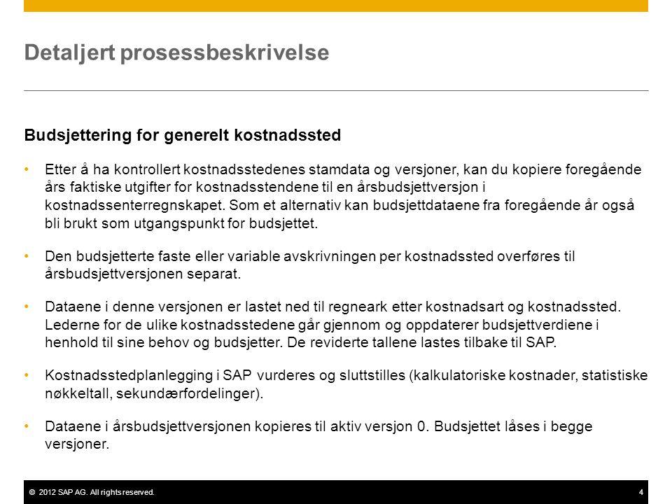 Detaljert prosessbeskrivelse