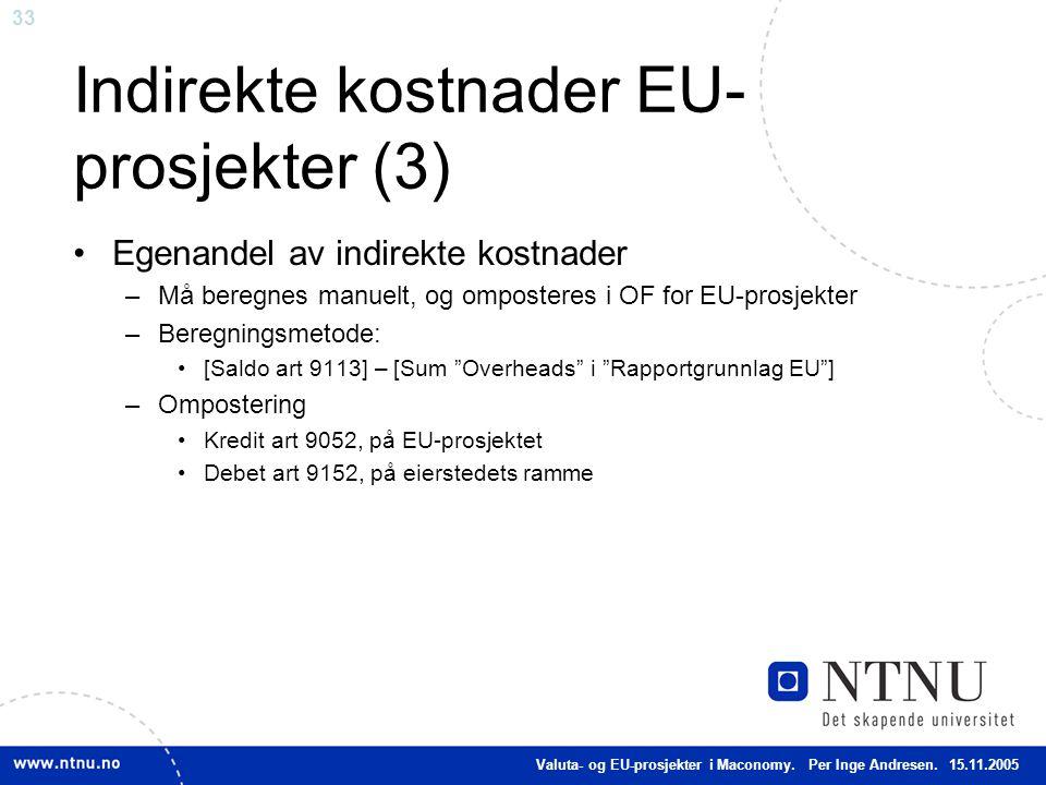 Indirekte kostnader EU-prosjekter (3)