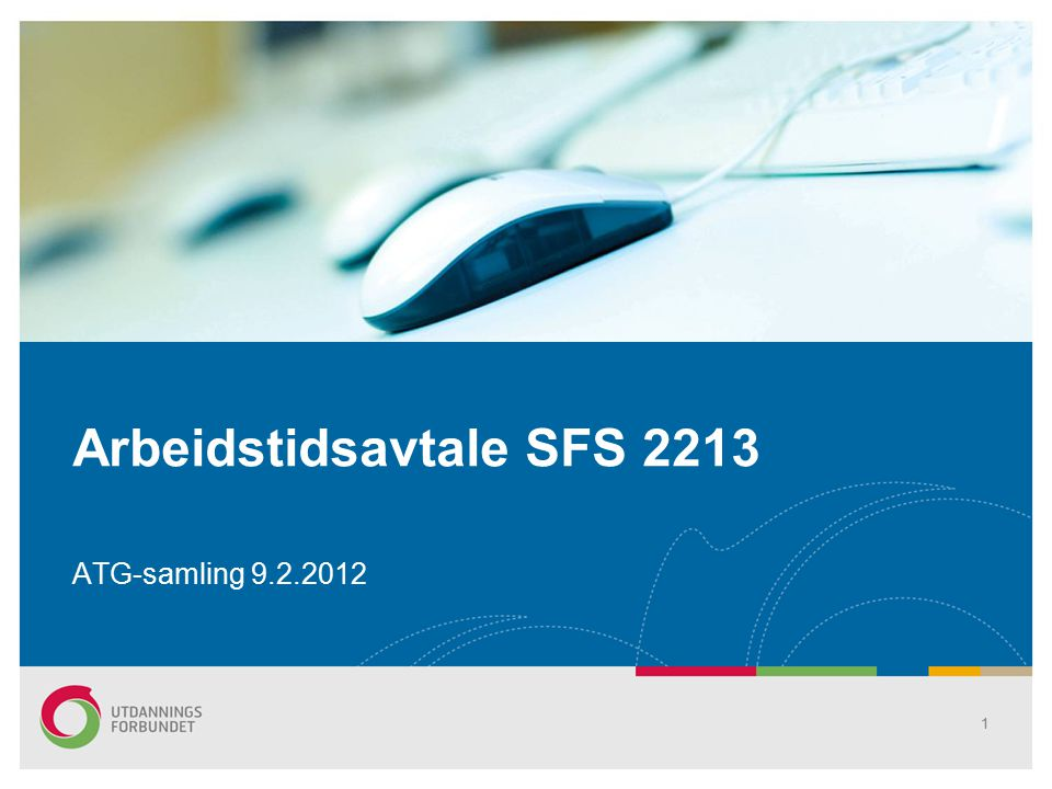 Arbeidstidsavtale SFS 2213