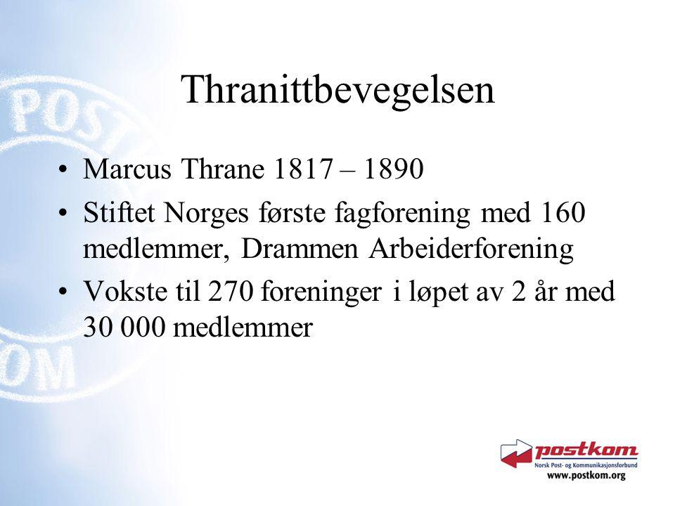Thranittbevegelsen Marcus Thrane 1817 – 1890
