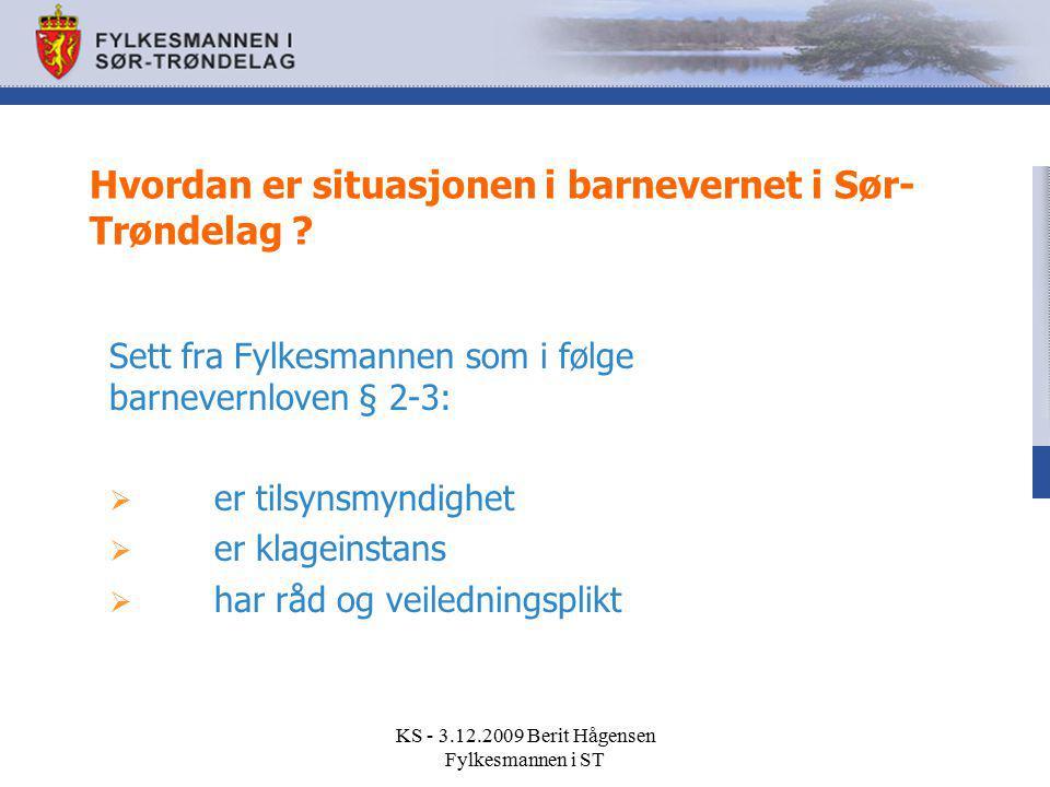 Hvordan er situasjonen i barnevernet i Sør-Trøndelag
