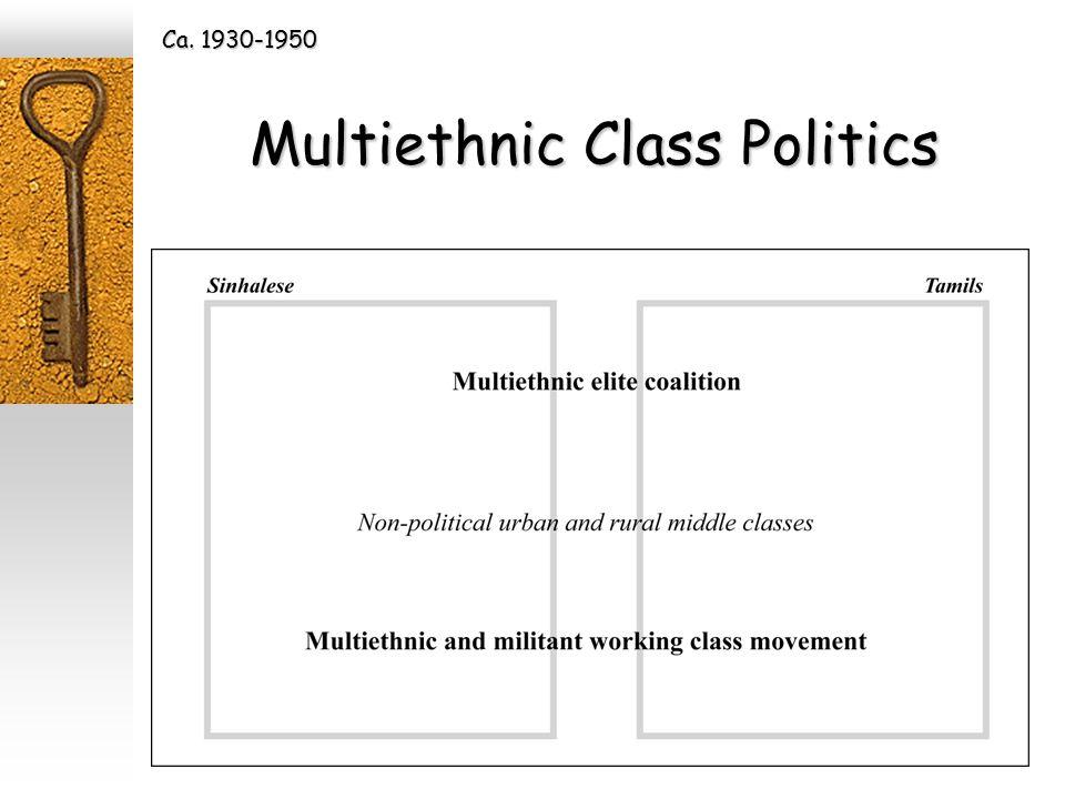 Multiethnic Class Politics