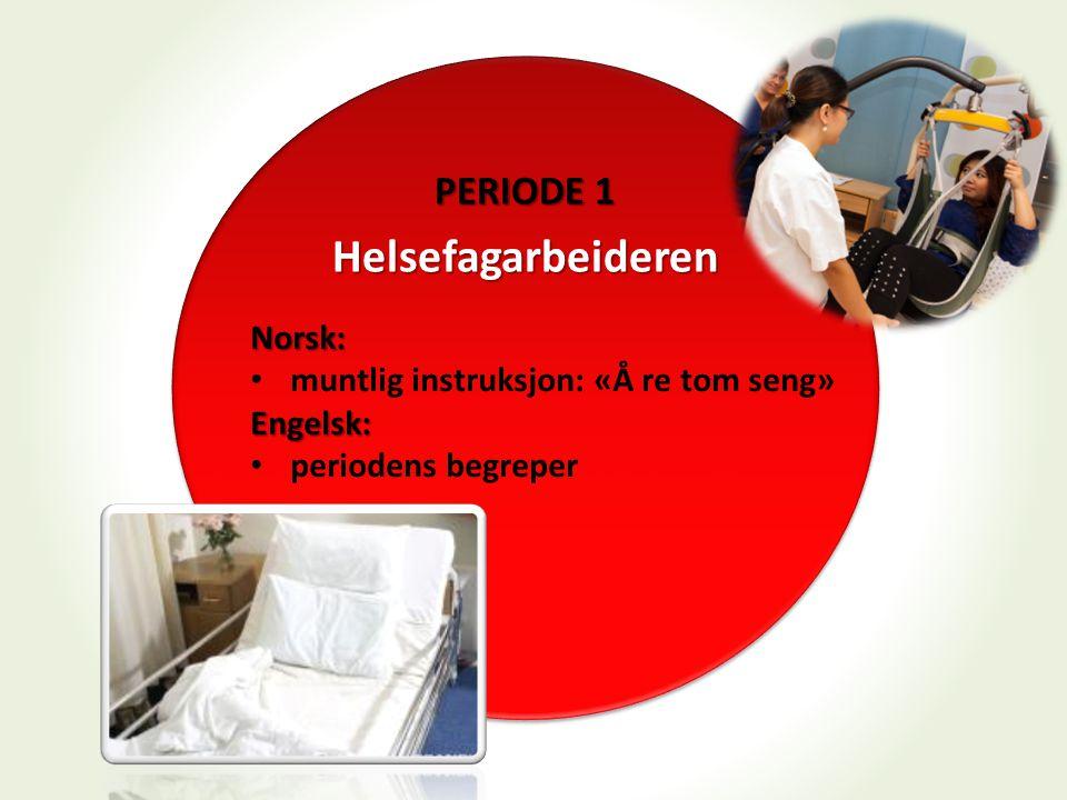 Helsefagarbeideren PERIODE 1 Norsk: