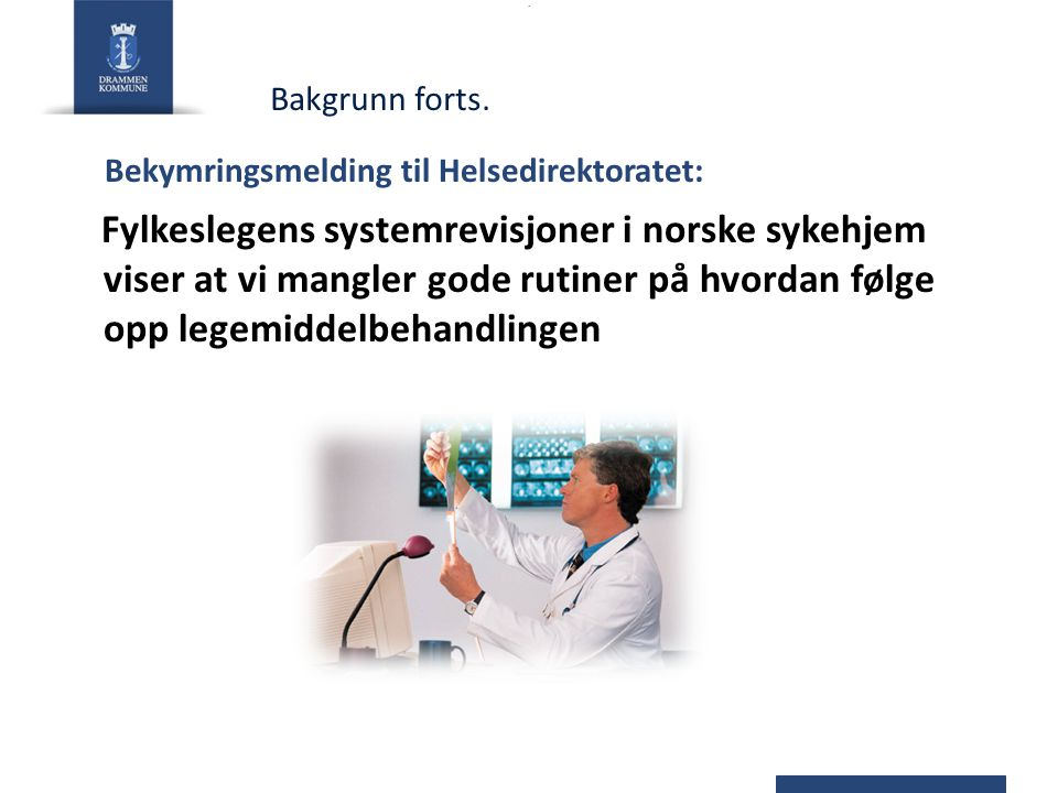 Bekymringsmelding til Helsedirektoratet: