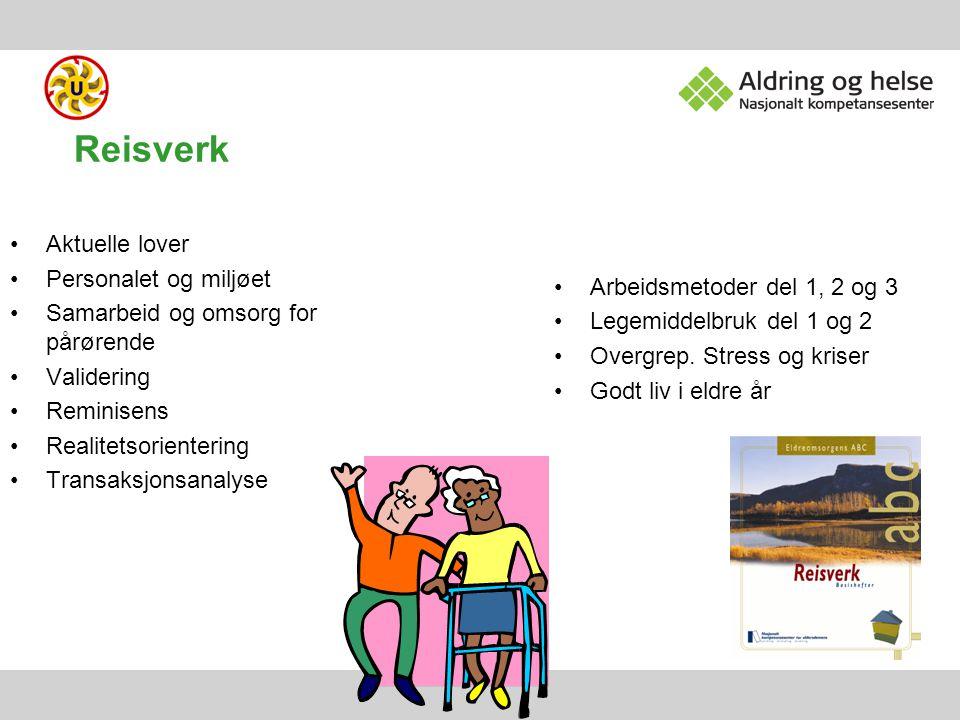 Reisverk Aktuelle lover Personalet og miljøet