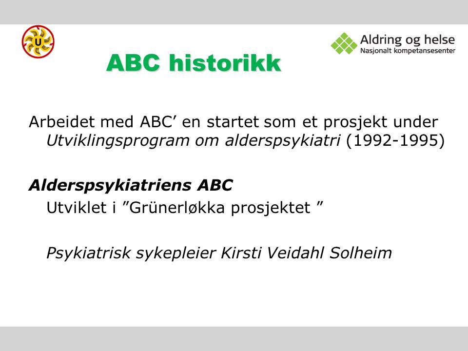 ABC historikk