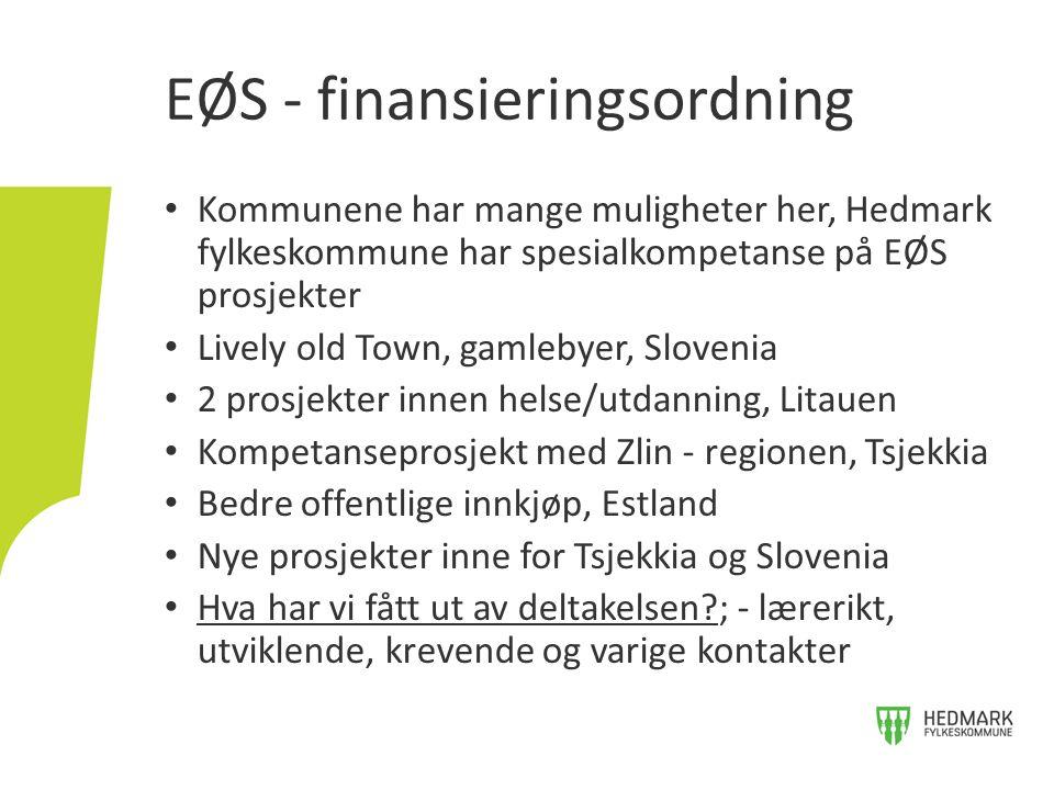 EØS - finansieringsordning
