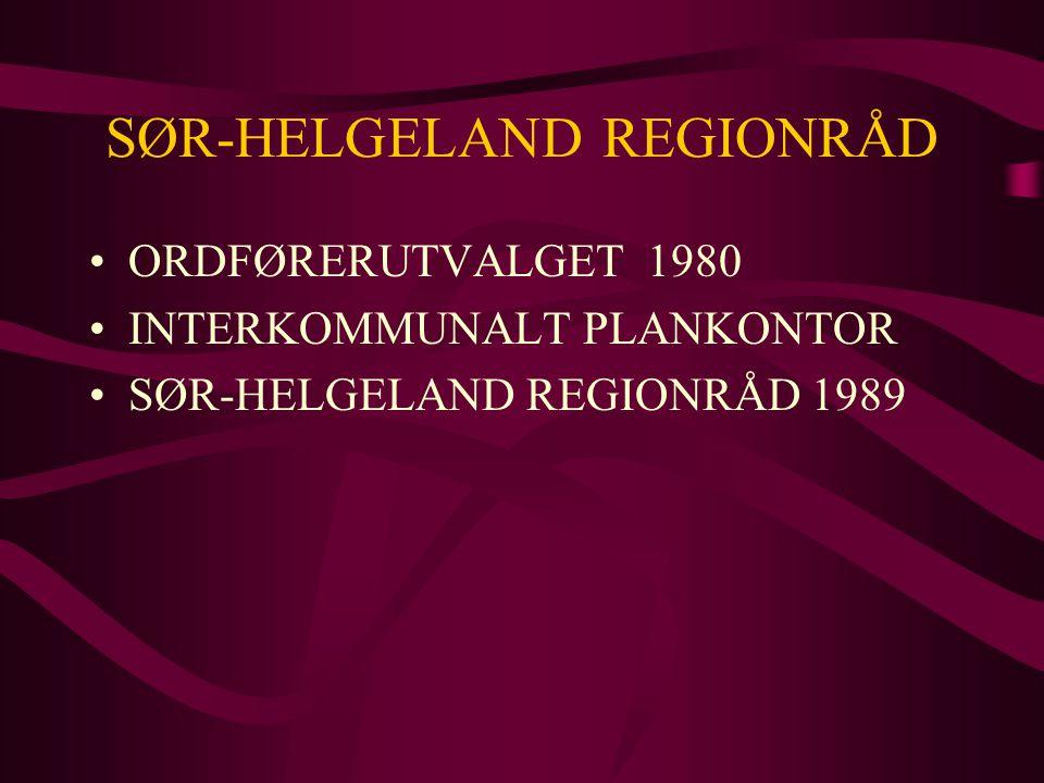 SØR-HELGELAND REGIONRÅD