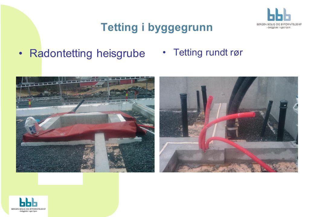 Radontetting heisgrube