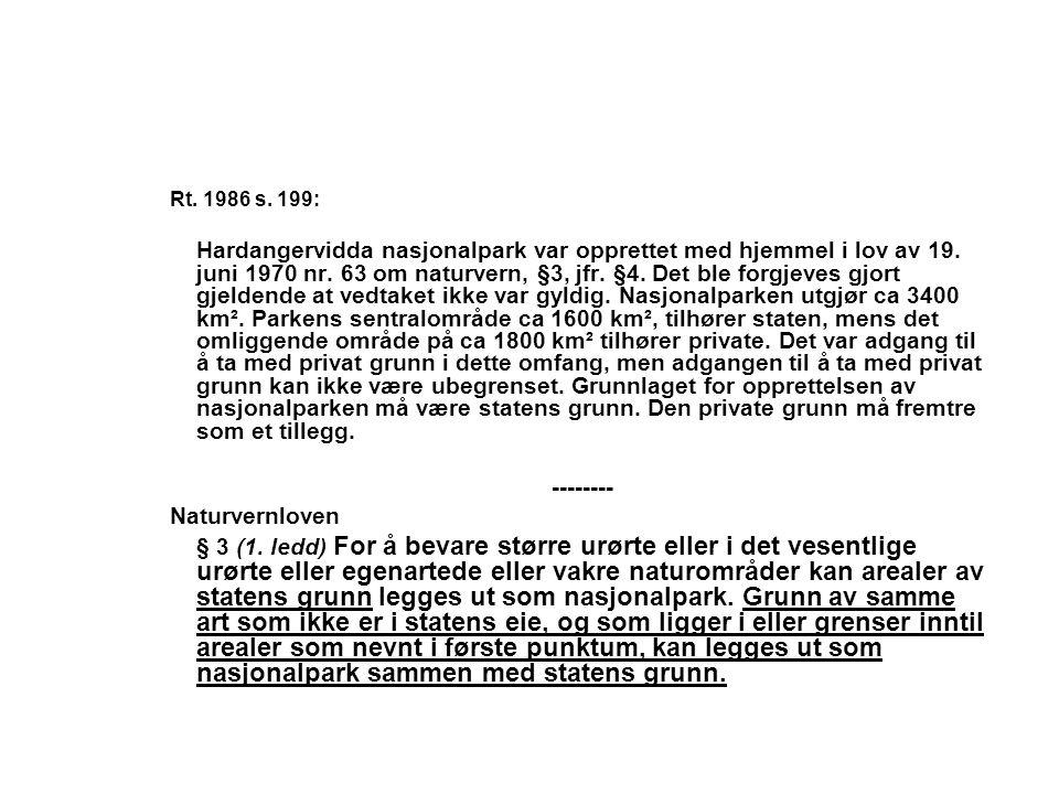 Rt. 1986 s. 199: