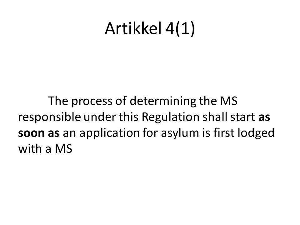 Artikkel 4(1)