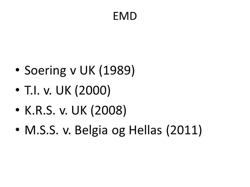 M.S.S. v. Belgia og Hellas (2011)