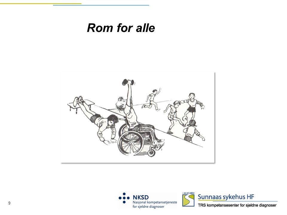 Rom for alle Diktet om inkludering som avslutning…
