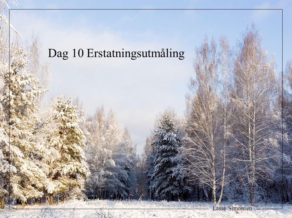 Dag 10 Erstatningsutmåling