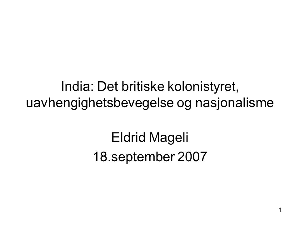 Eldrid Mageli 18.september 2007
