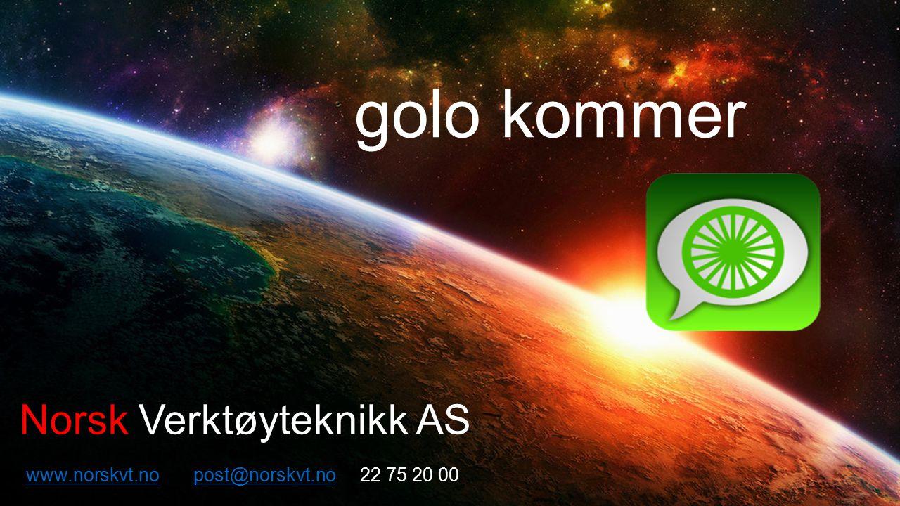 golo kommer Norsk Verktøyteknikk AS