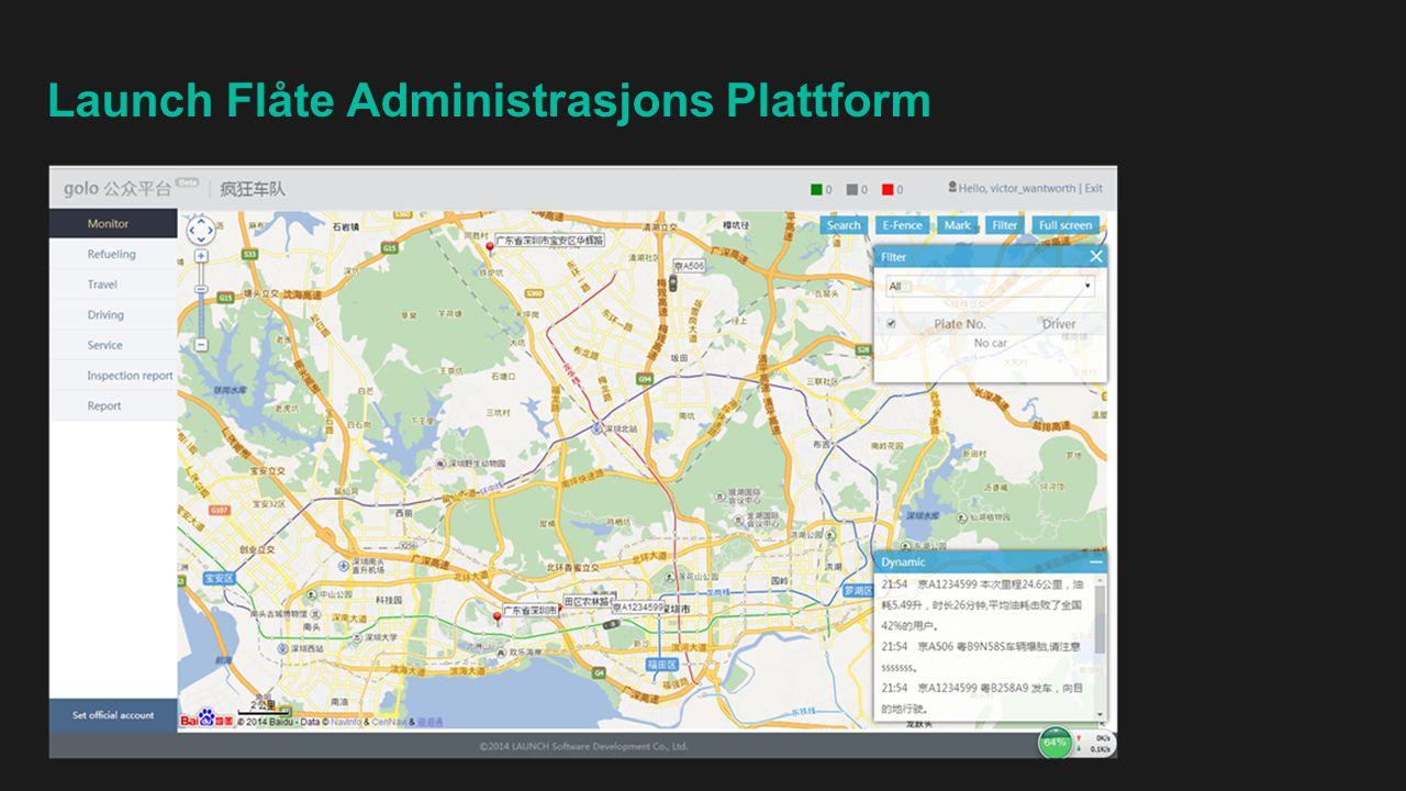 Launch Flåte Administrasjons Plattform