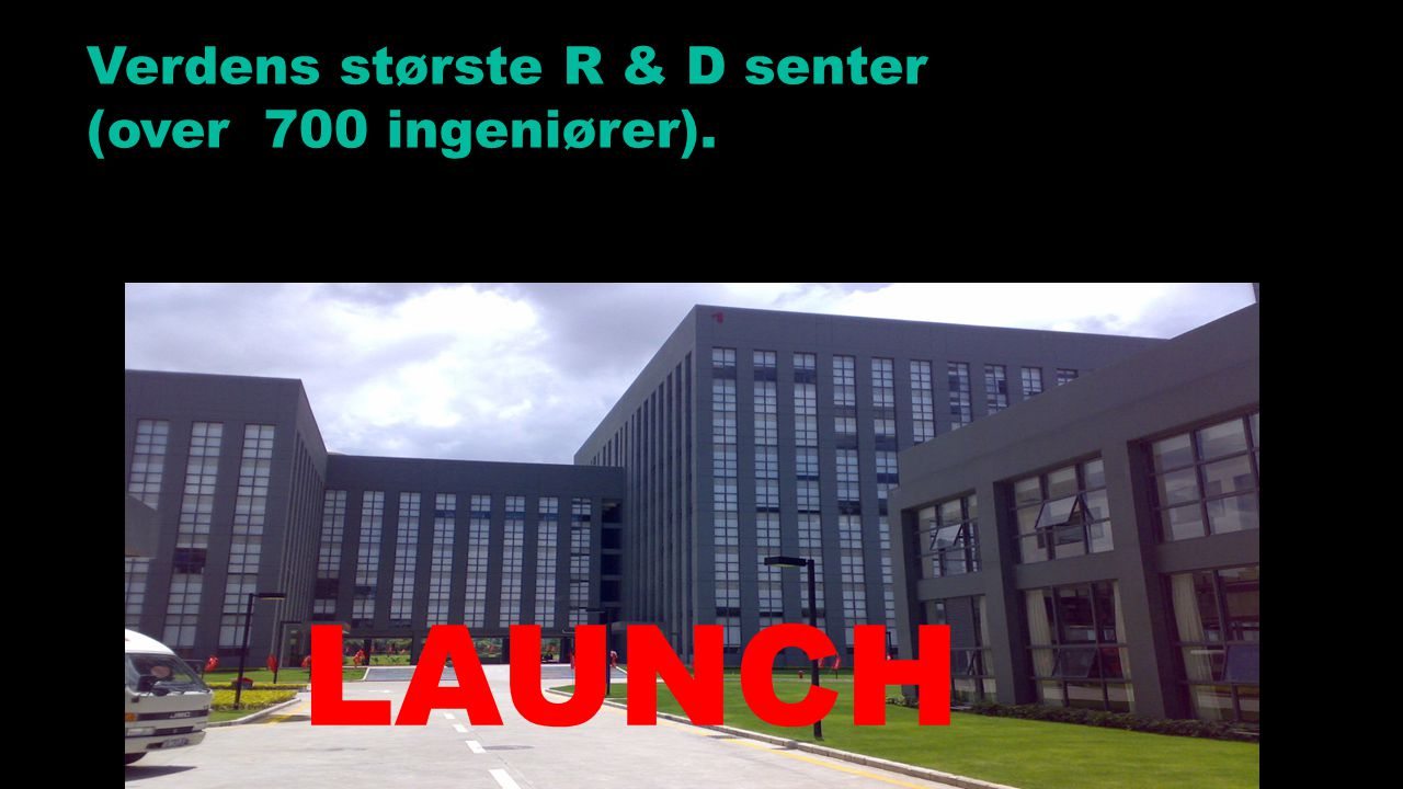 Verdens største R & D senter