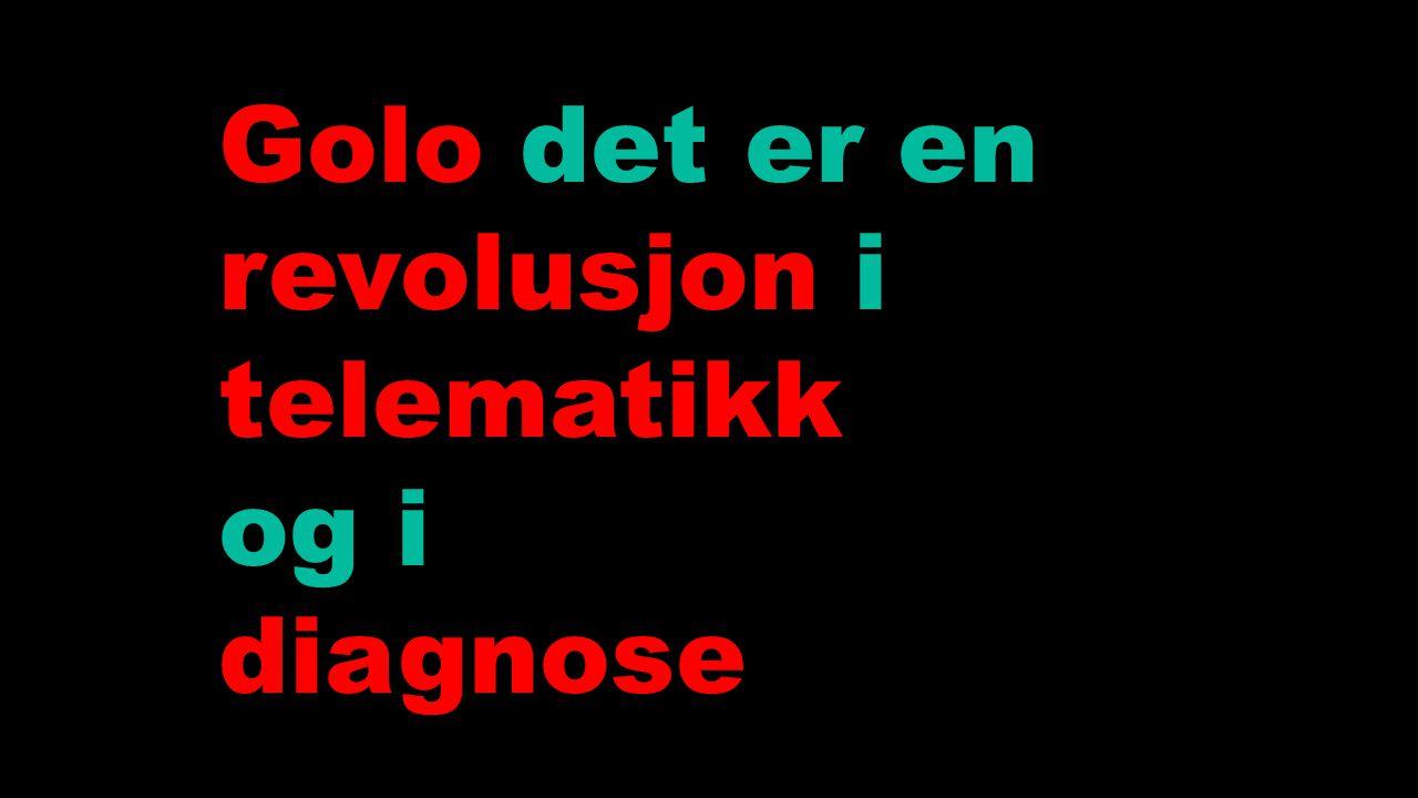 Golo det er en revolusjon i telematikk og i diagnose 6