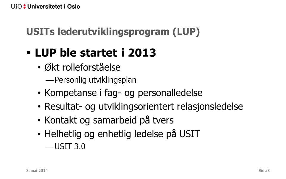 USITs lederutviklingsprogram (LUP)