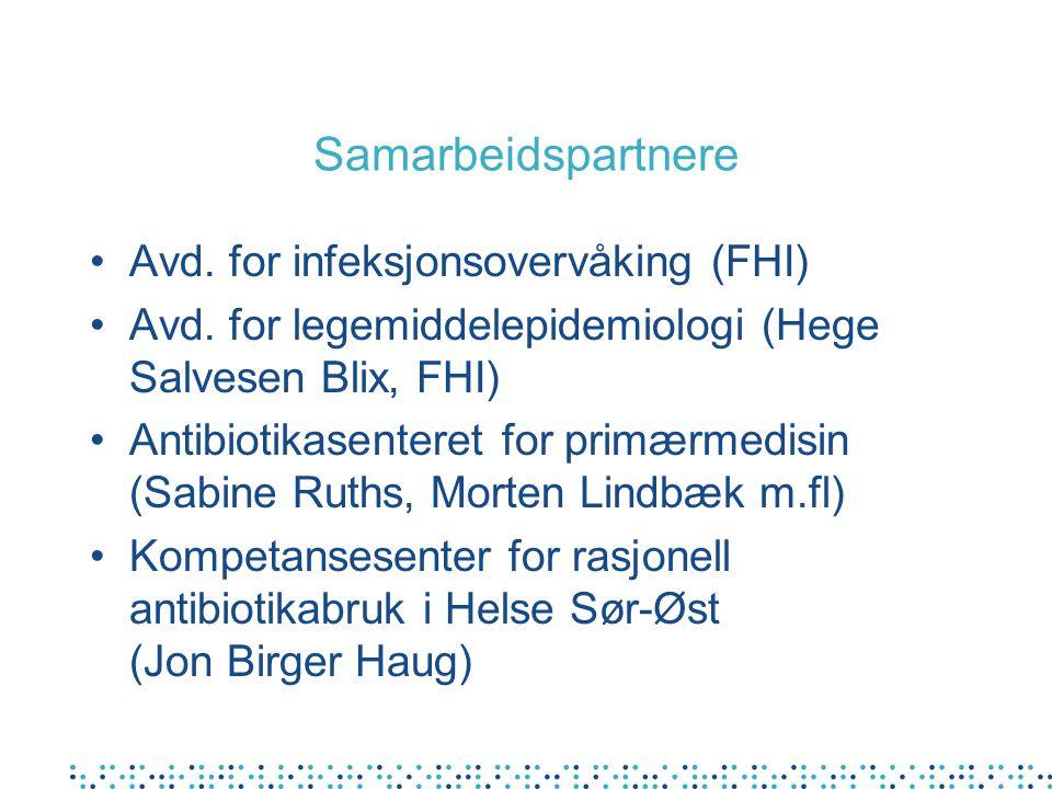 Samarbeidspartnere Avd. for infeksjonsovervåking (FHI)