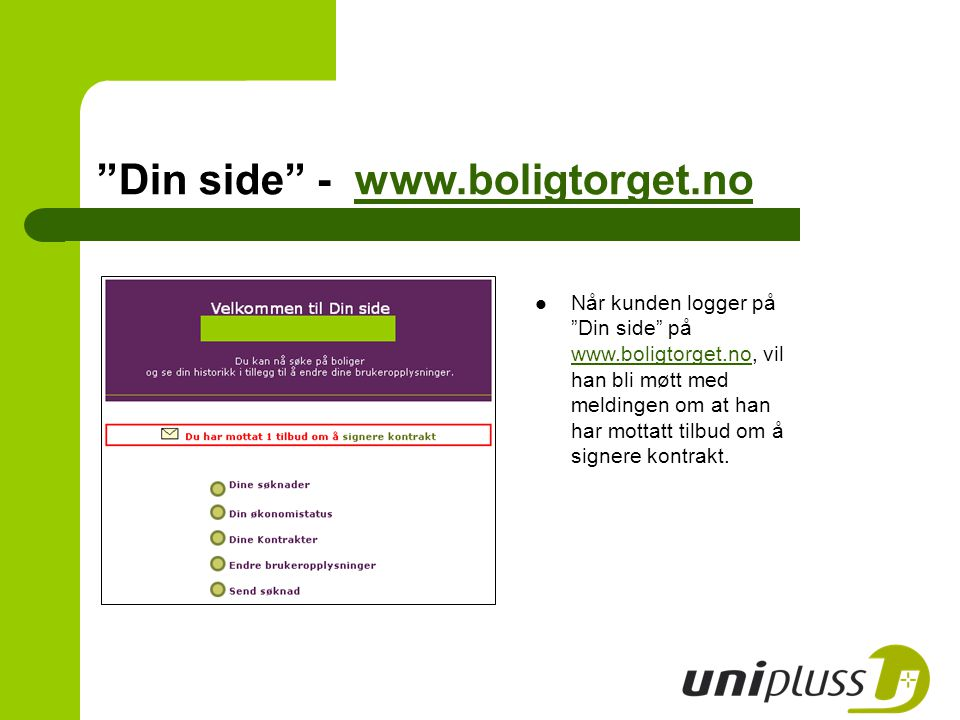 Din side - www.boligtorget.no