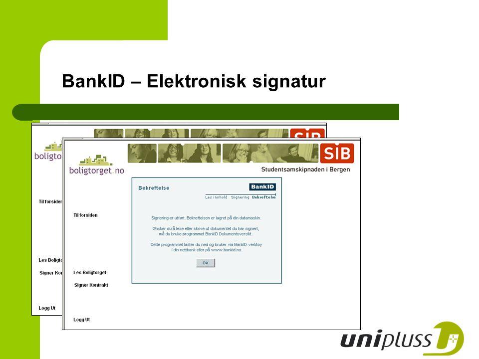 BankID – Elektronisk signatur