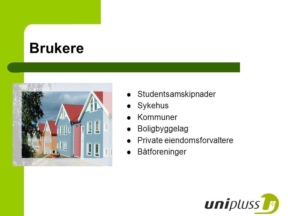 Brukere Studentsamskipnader Sykehus Kommuner Boligbyggelag