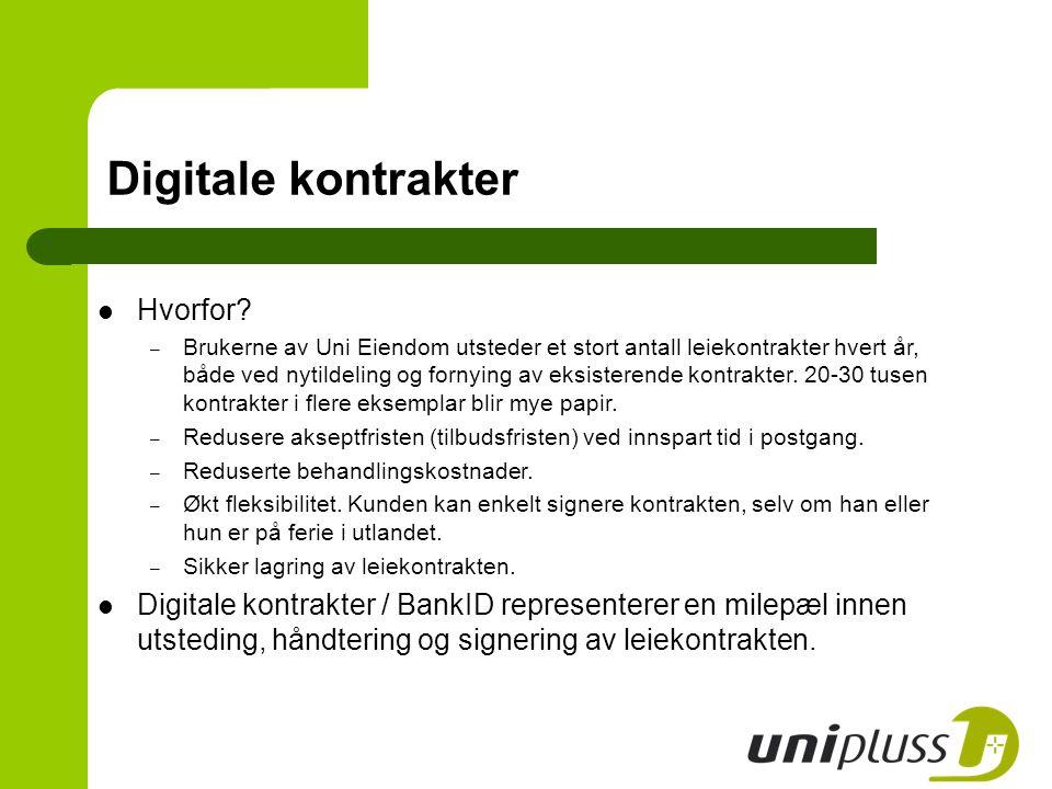 Digitale kontrakter Hvorfor