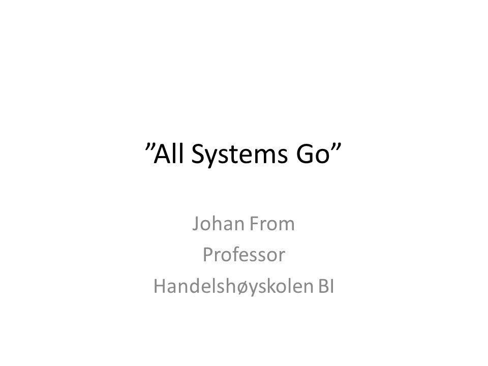 Johan From Professor Handelshøyskolen BI
