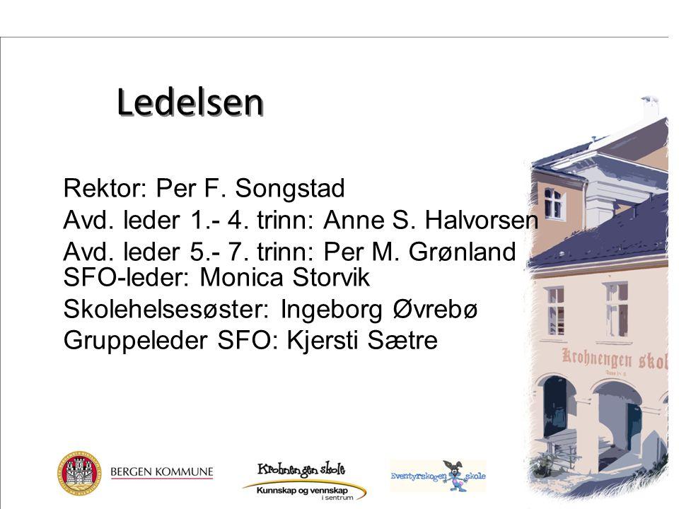 Ledelsen Rektor: Per F. Songstad