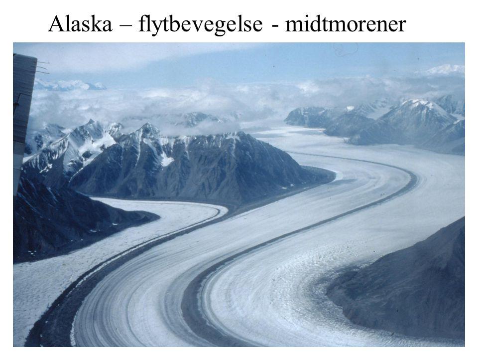 Alaska – flytbevegelse - midtmorener
