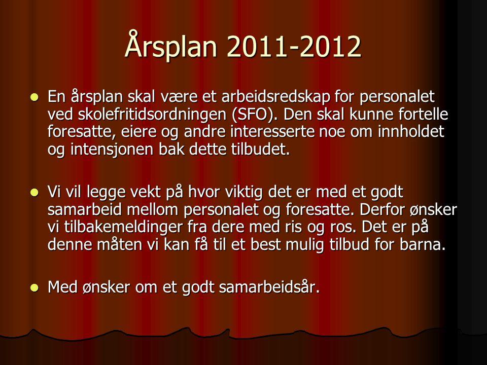 Årsplan 2011-2012