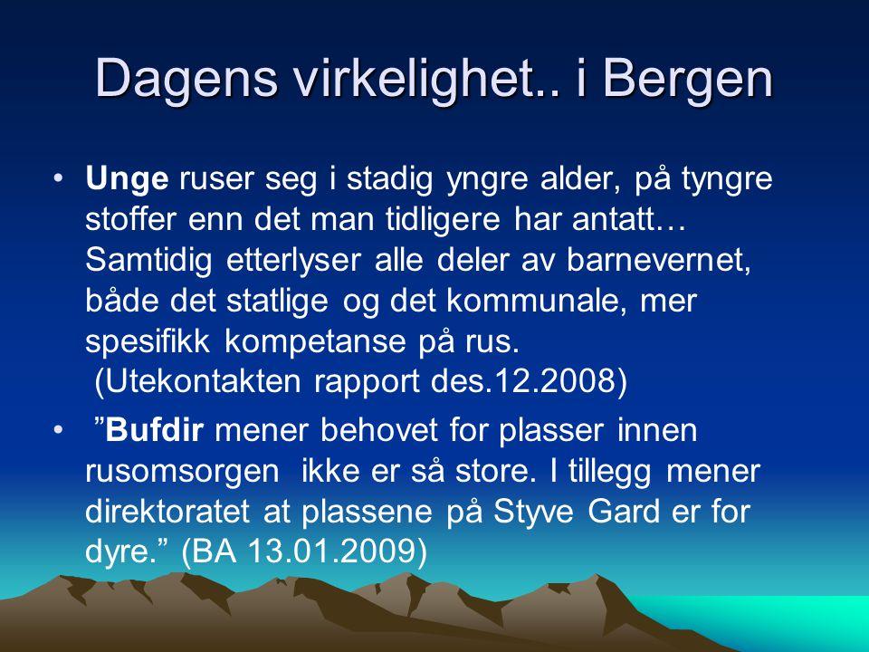 Dagens virkelighet.. i Bergen