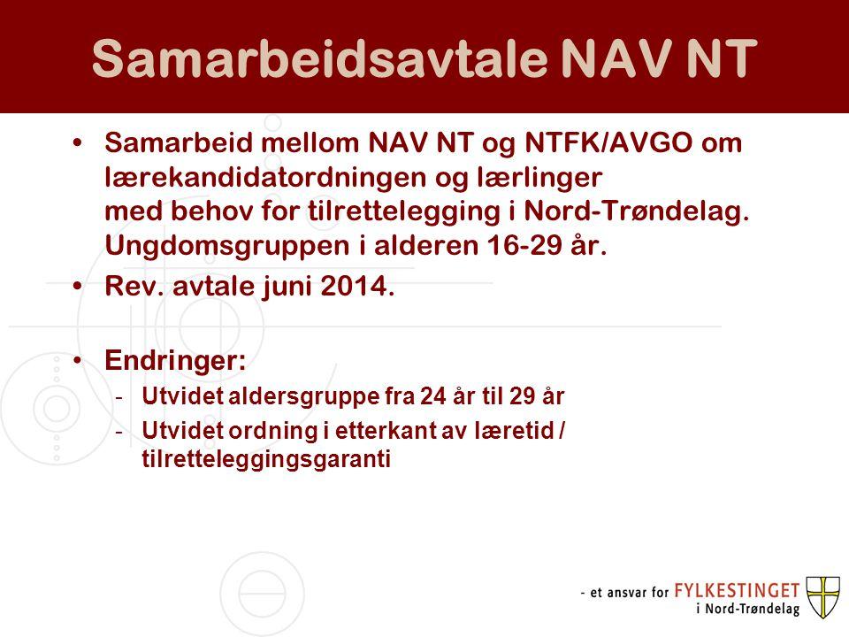 Samarbeidsavtale NAV NT