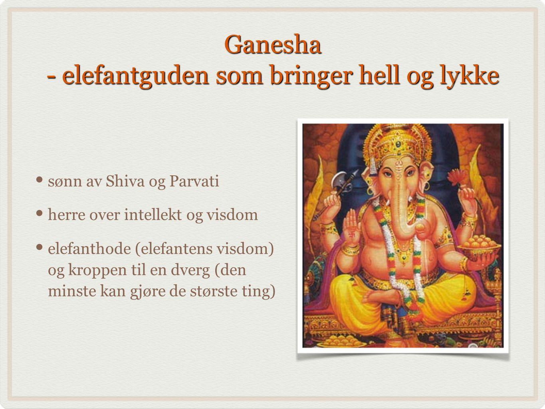 Ganesha - elefantguden som bringer hell og lykke
