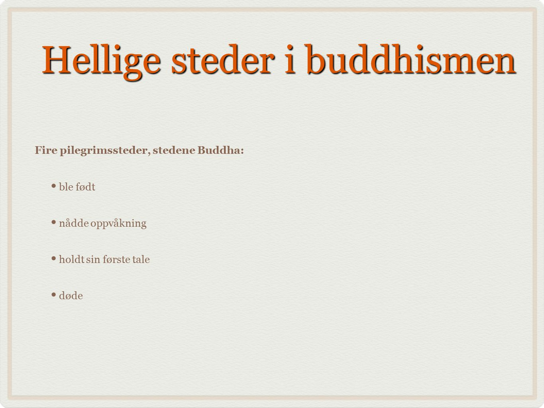Hellige steder i buddhismen