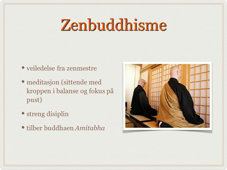 Zenbuddhisme veiledelse fra zenmestre