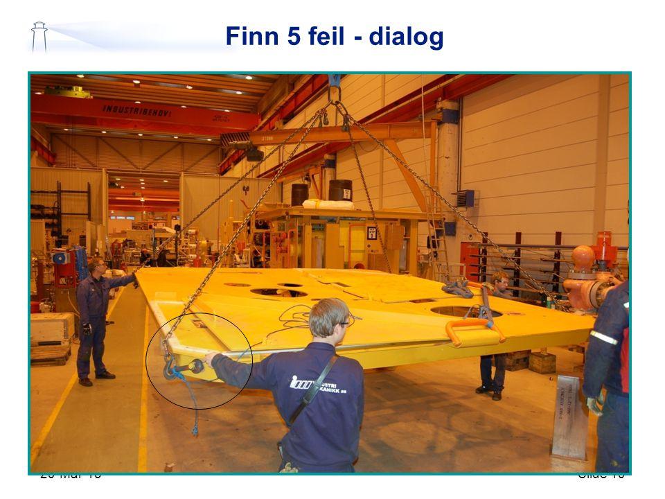 Finn 5 feil - dialog 9-Apr-17