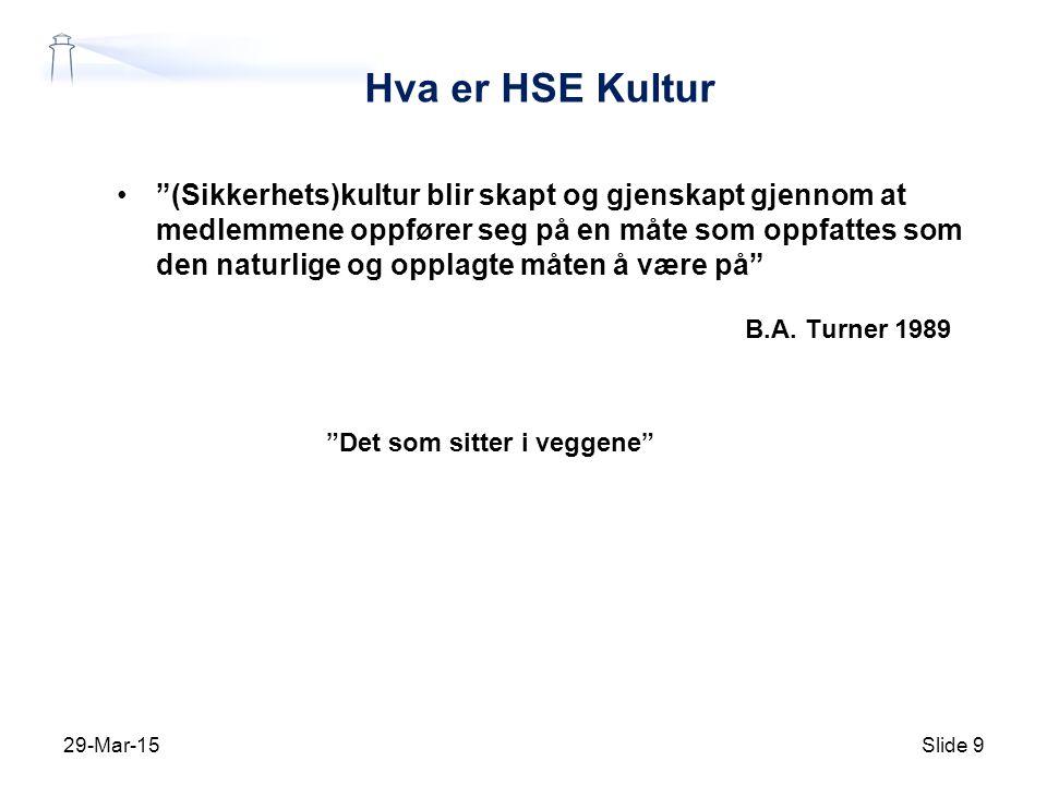 Hva er HSE Kultur