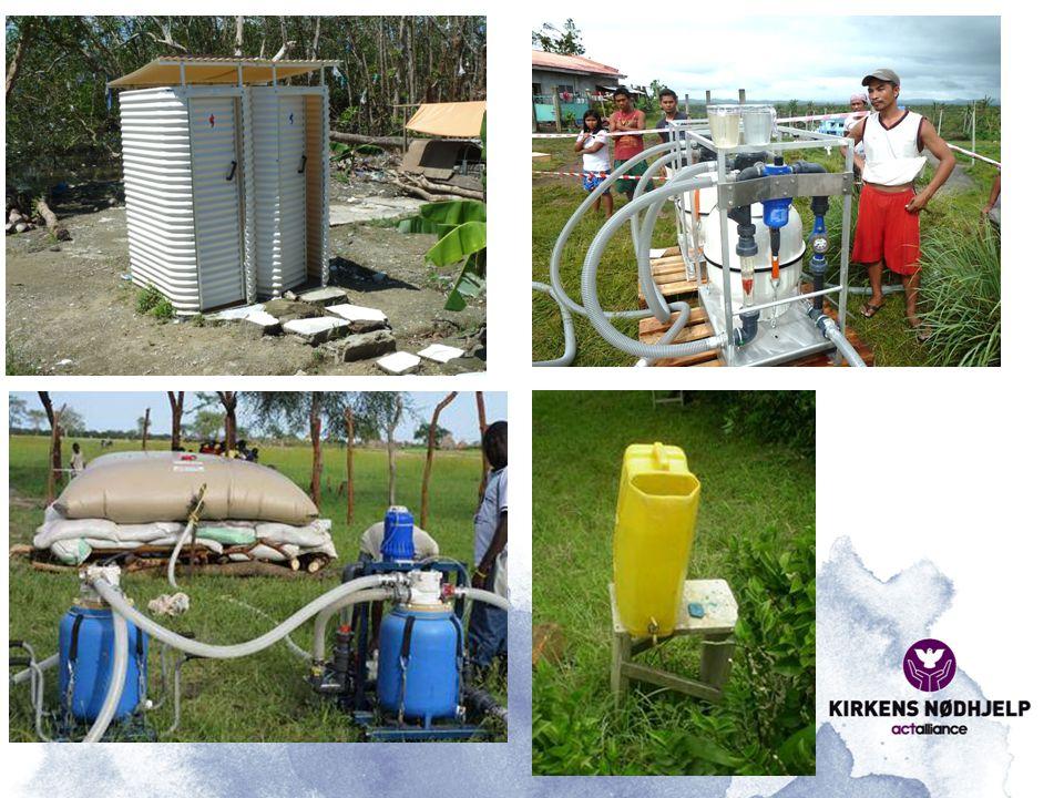 Her ser dere litt mer av hvordan Kirkens Nødhjelp redder liv i en katastrofe-situasjon med trygge vann- og sanitærløsninger.